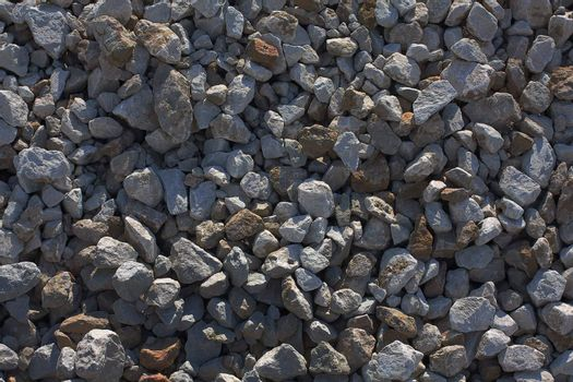 The background consisting of fine stones