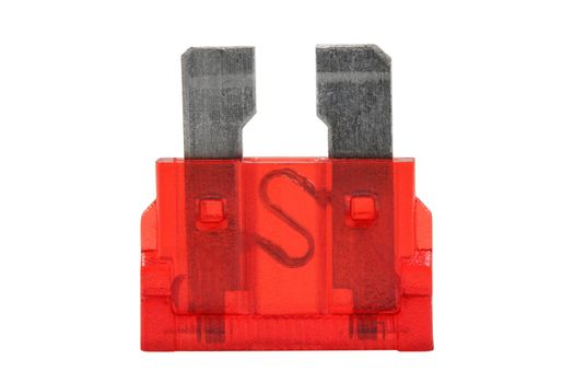 Car electrical component auto fuse red