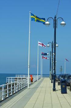 Seafront Aberystwyth Wales UK