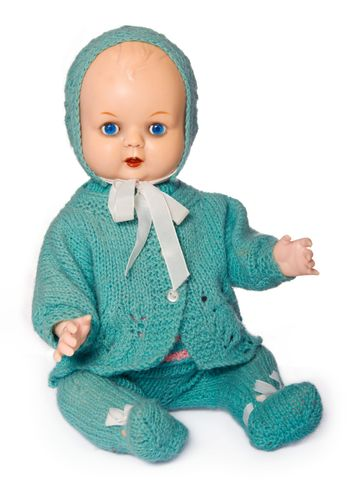 Old-fashioned doll