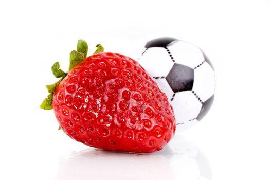 Strawberry soccer