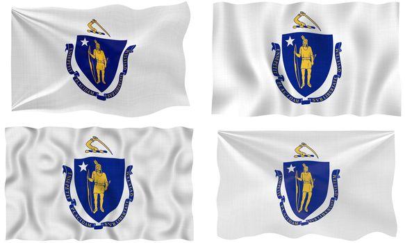 Flag of massachusetts