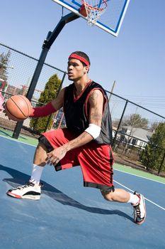 Basketball Crossover Dribble
