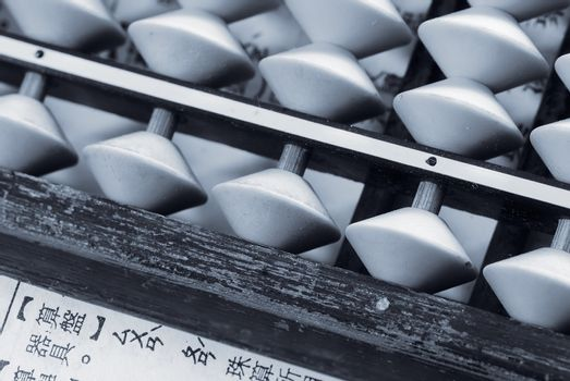 Chinese Mathematical tools called abacus