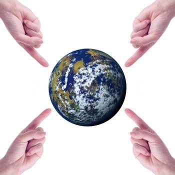 Global Concept: idea, environment, choice, balance.
