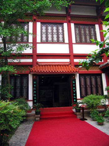 China old tradition stylish building