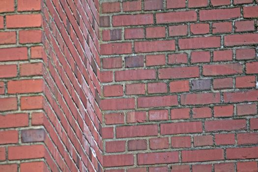 Red Brick Wall and Mortar Illusion Challenge. Is the wall bending away from you or towards you?