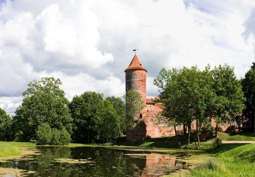 Castle XVI century in Lithuania