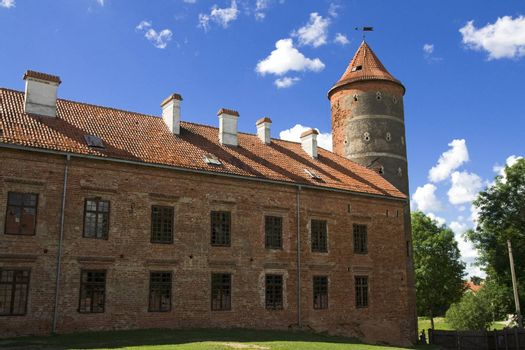 Castle Panemune - the picture was taken in Lithuania, Panemune regional park