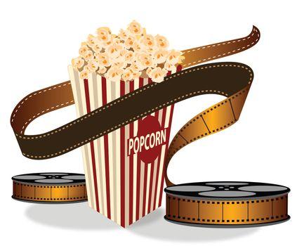 popcorn, reel
