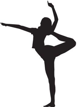 Gymnastic girl.