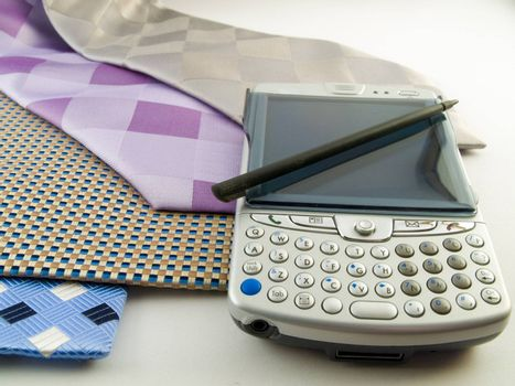 Close Up PDA and Neck Ties With Stylus