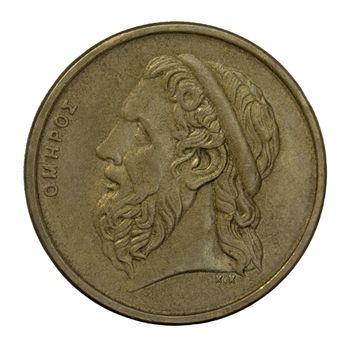 Homer, ancient Greek poet
