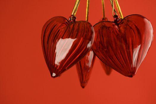 Valentine's hearts background