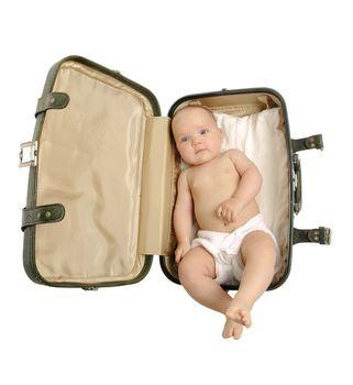 Luggage baby
