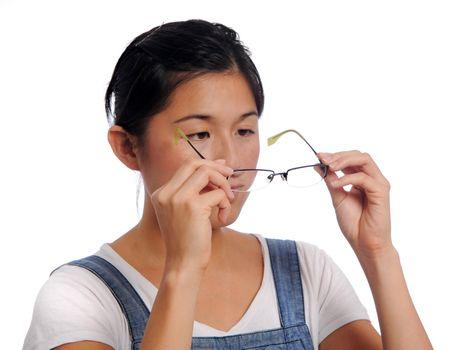 Lens inspection