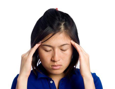 Migraine girl