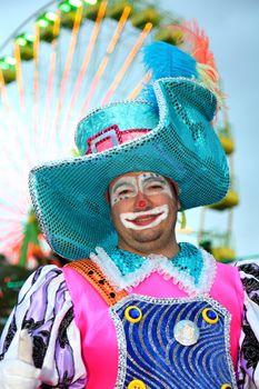 Santa Cruz de Tenerife Carnival: Clown