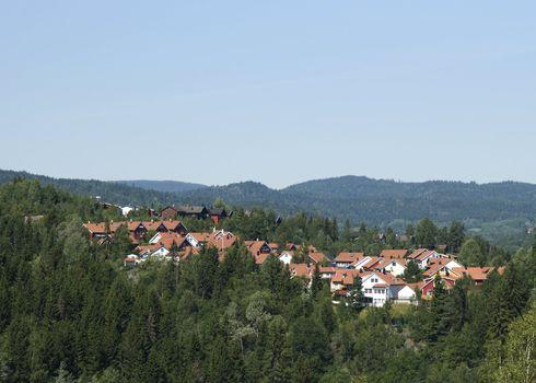 Norwegian suburb