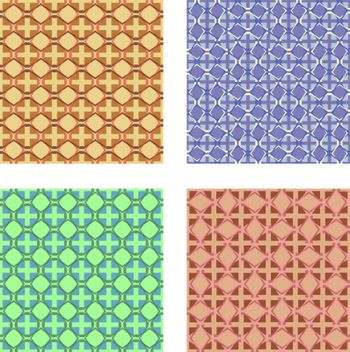 Collection of geometric texture for make decorations