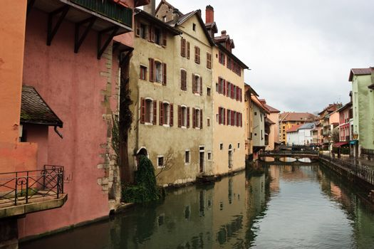 Canal at Annecy town