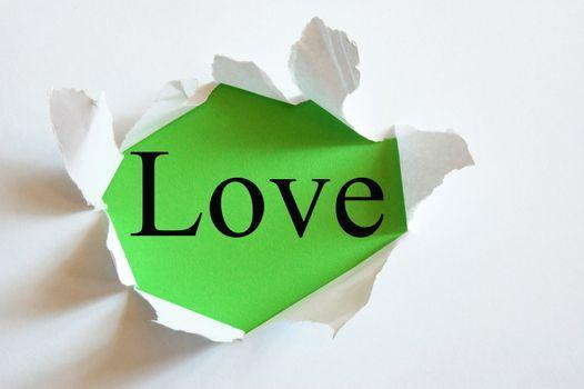 love on green