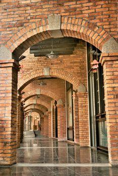Antique corridor