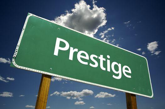 Prestige Road Sign