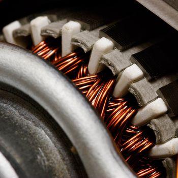 Inside electric motor