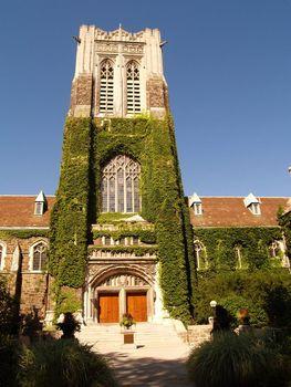Alumni Memorial Building on the campus of Lehigh University in Bethlehem, Pennsylvania
