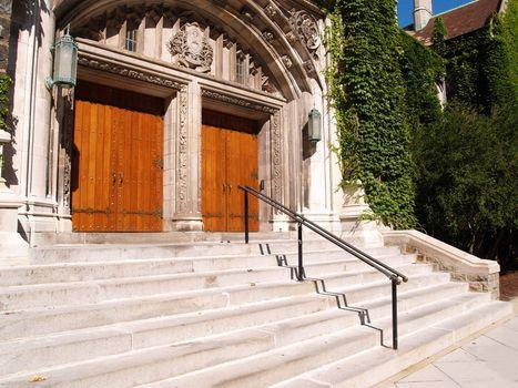 wood doors for the Alumni Memorial Building at Lehigh University in Bethlehem, Pennsylvania