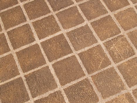 abstract view of a stone patio