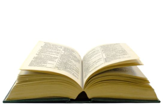 old open dictionary