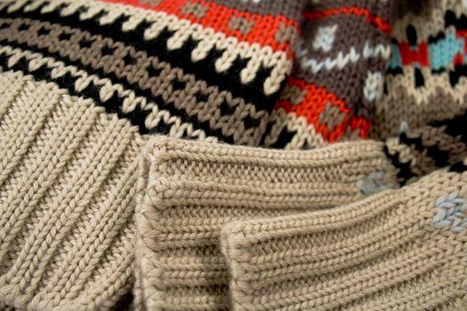 sweater close-up
