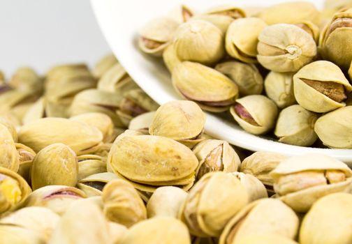 pistachios close-up