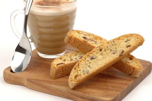 Biscotti Cappuccino Treat