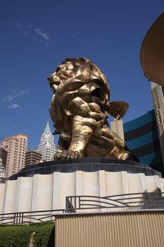 Las Vegas - MGM Grand Lion
