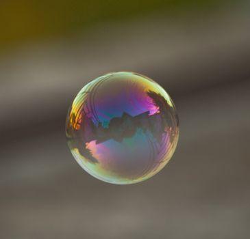 photo of soap bubble