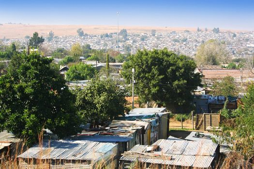 African Township