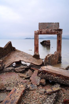 desolate and broken peer