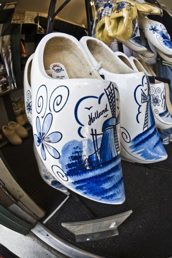 Traditional Dutch Wooden Shoes