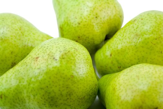 pears close-up