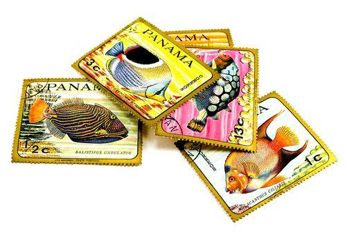 panama post stamps