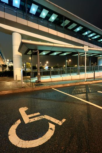 foot bridge for disability