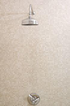 Empty shower