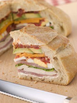 Stuffed Loaf Sandwich