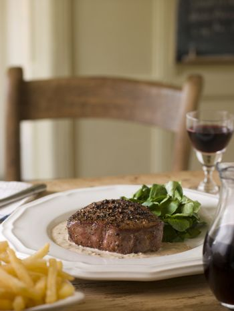 Steak au Poirve