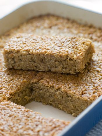 Flapjack in a Baking Dish