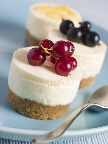 Trio of Individual Cheesecakes