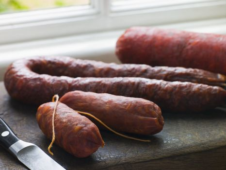 Selection of Spanish Sausages